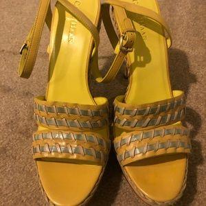Fun, Yellow Straw Heels